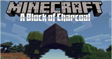 A Block of Charcoal Mod 1.16.3/1.12.2/1.7.10 For Minecraft