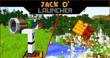 Jack O' Launcher Mod 1.14.4/1.13.2/1.12.2 For Minecraft