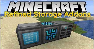 Refined Storage Addons Mod 1.16.4/1.15.2/1.12.2 For Minecraft