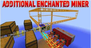 Additional Enchanted Miner Mod 1.16.5/1.12.2/1.10.2 For Minecraft