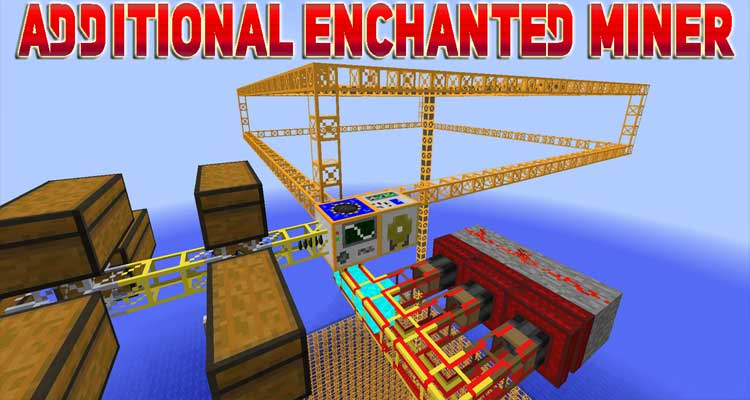 Additional Enchanted Miner Mod 1.14.4/1.12.2