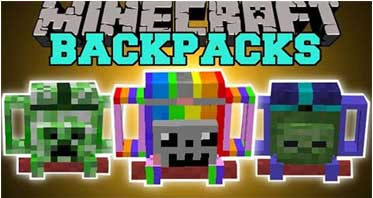 Adventure Backpack Mod 1.7.10 For Minecraft