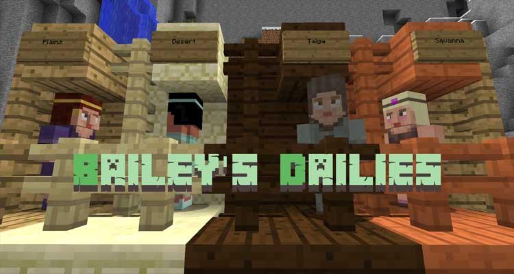 Bailey's Dailies Mod 1.12.2/1.11/2/1.10.2