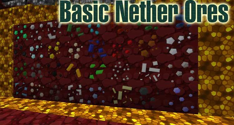 Basic Nether Ores Mod 1.14.4/1.12.2
