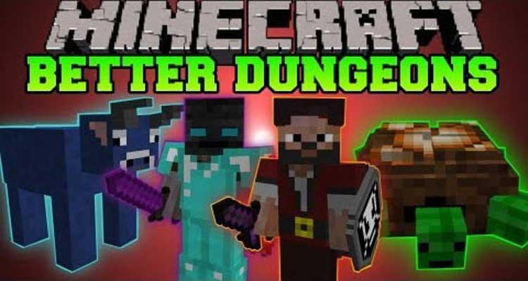 Better Dungeons Mod 1.7.10