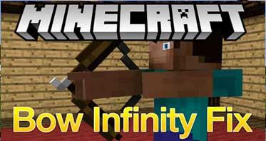 Bow Infinity Fix Mod 1.16.5/1.12.2/1.7.10 For Minecraft