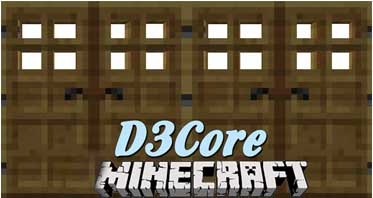 D3Core Mod 1.12.2/1.11.2/1.10.2 For Minecraft