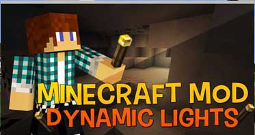 Dynamic Lights Mod 1.13.2/1.12.2/1.7.10For Minecraft
