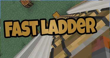 Faster Ladder Climbing Mod 1.16.4/1.12.2/1.10.2 For Minecraft