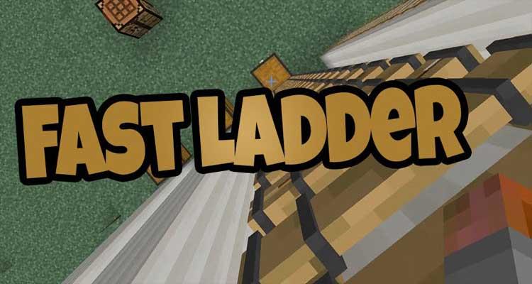 Faster Ladder Climbing Mod 1.12.2/111.2/1.10.2