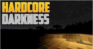 Hardcore Darkness Mod 1.12.2/1.11.2/1.10.2 For Minecraft