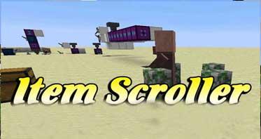 Item Scroller Fabric Mod 1.16.5/1.12.2/1.7.10 For Minecraft