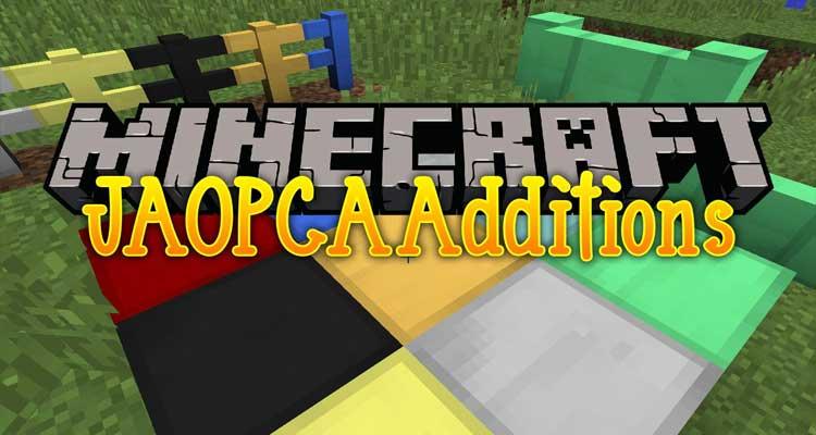 JAOPCAAdditions Mod 1.12.2/1.11.2/1.10.2