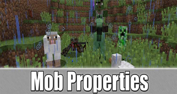 Mob Properties Mod 1.10.2/1.7.10