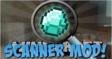 Scanner Mod 1.12.2/1.11.2/1.10.2 For Minecraft