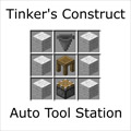 TiConAutoToolStation Mod 1.7.10 For Minecraft