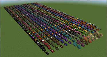 Ultimate Car Mod 1.16.5/1.15.2/1.12.2 For Minecraft
