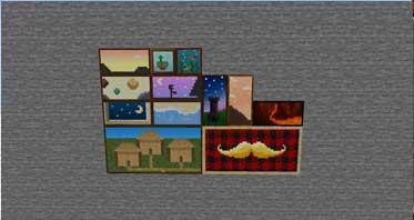 Dark Paintings Mod 1.16.5/1.15.2 For Minecraft