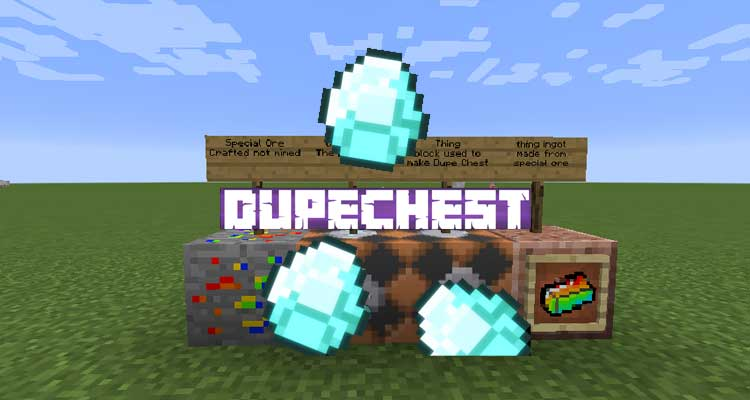 DupeChest Mod 1.14.4/1.12.2
