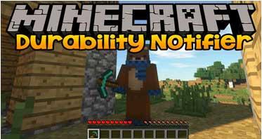 Durability Notifier Mod 1.16.5/1.15.2/1.14.4 For Minecraft