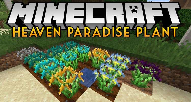 Heaven Paradise Plant Mod 1.14.4