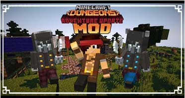 MC Dungeons Mod 1.15.2/1.12.2 For Minecraft