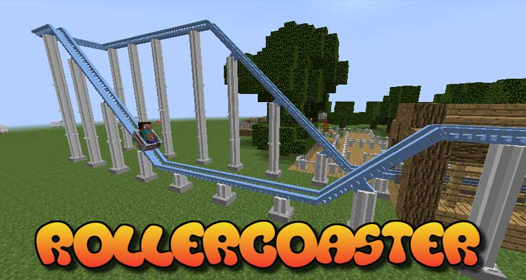 Rollercoaster Mod 1.7.10