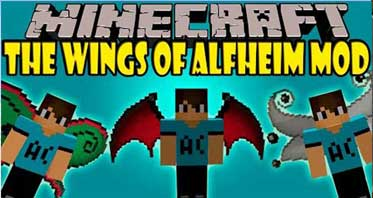 The Wings of Alfheim Mod 1.7.10 For Minecraft