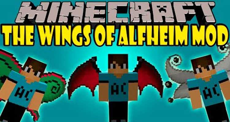 The Wings of Alfheim Mod 1.710