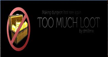 TooMuchLoot Mod 1.7.10For Minecraft