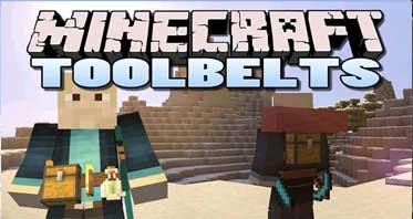 Tool Belt Mod 1.16.5/1.12.2/1.10.2 For Minecraft