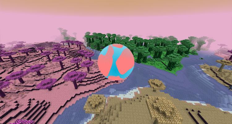 Gaia Dimension Mod 1.15.2/1.14.4/1.12.2