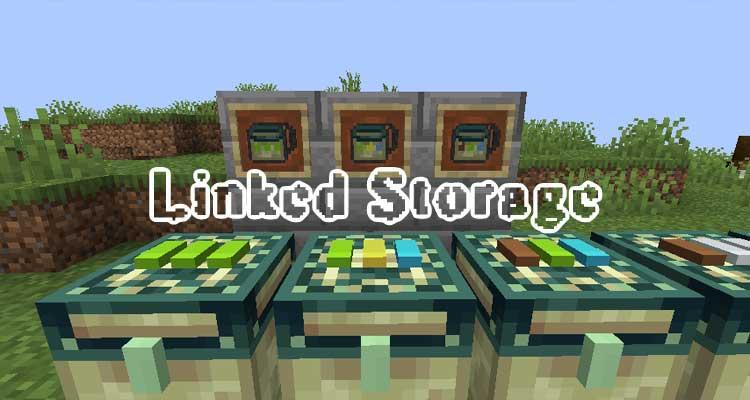 Linked Storage Mod 1.16.3/1.15.2