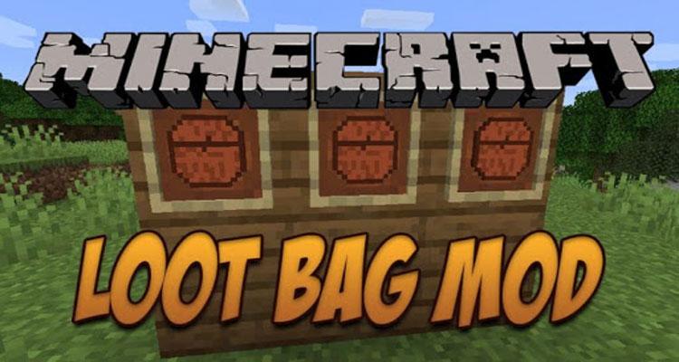 Loot Bag Mod 1.16.2/1.15.2/1.14.4