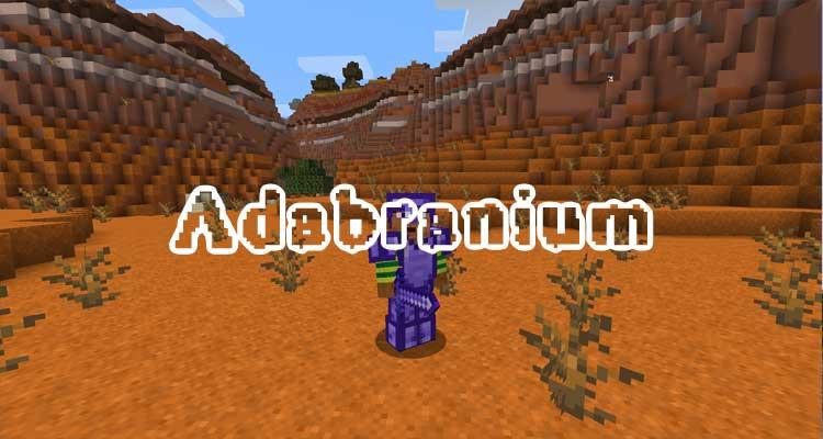 Adabranium Mod 1.16.3/1.15.2 For Minecraft