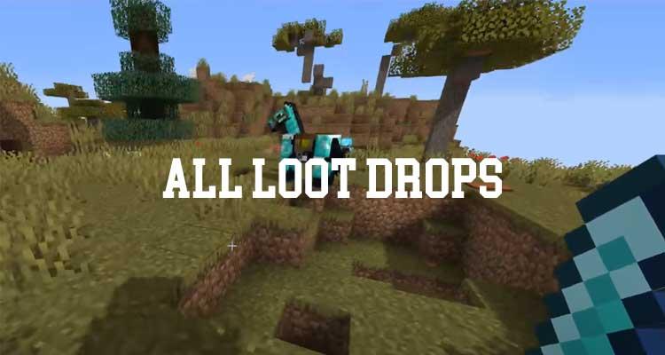 All Loot Drops Mod 1.16.3/1.15.2/1.12.2