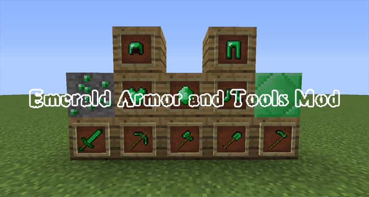 Emerald Armor and Tools Mod 1.12.2