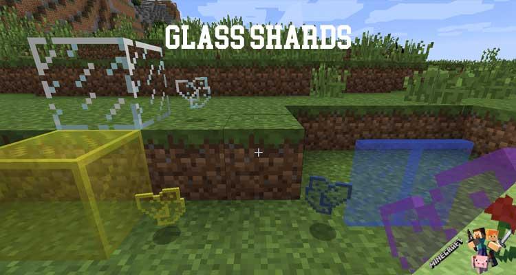 Glass Shards Mod 1.12.2/1.10.2/1.7.10