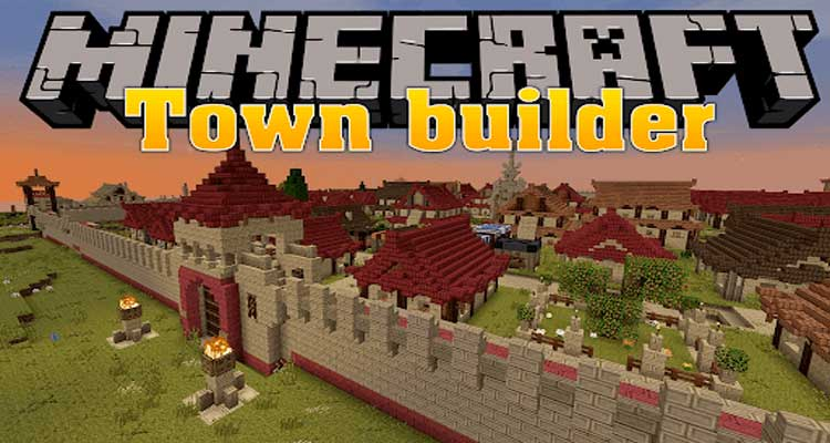 Town Builder Mod 1.12.2/1.10.2/1.7.10