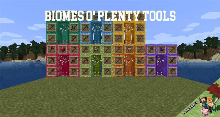 Biomes o' Plenty Tools Mod 1.12.2/1.11.2/1.10.2