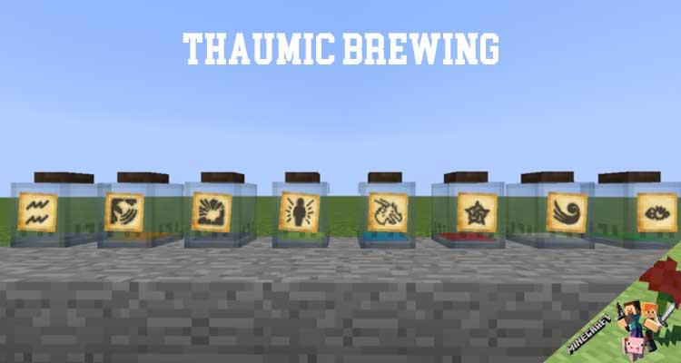 Thaumic Brewing Mod 1.12.2