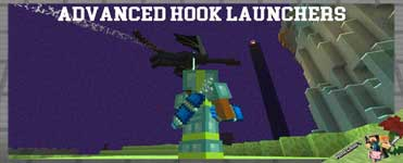 Advanced Hook Launchers Mod 1.16.4/1.12.2/1.10.2 For Minecraft
