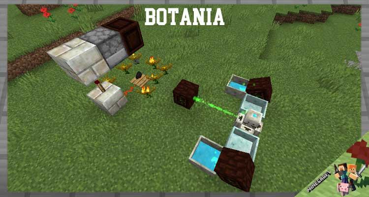 Botania Mod 1.16.5/1.12.2/1.10.2/1.7.10