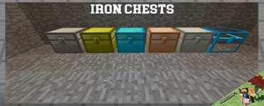 Iron Chests Mod 1.16.4/1.12.2/1.10.2/1.7.10 For Minecraft