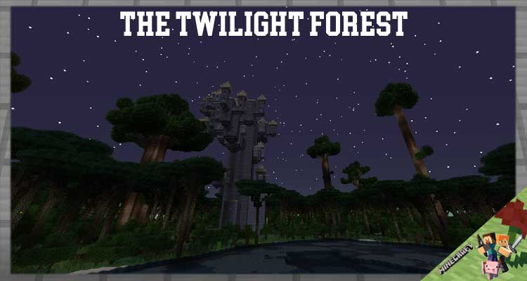 The Twilight Forest Mod 1.12.2/1.7.10