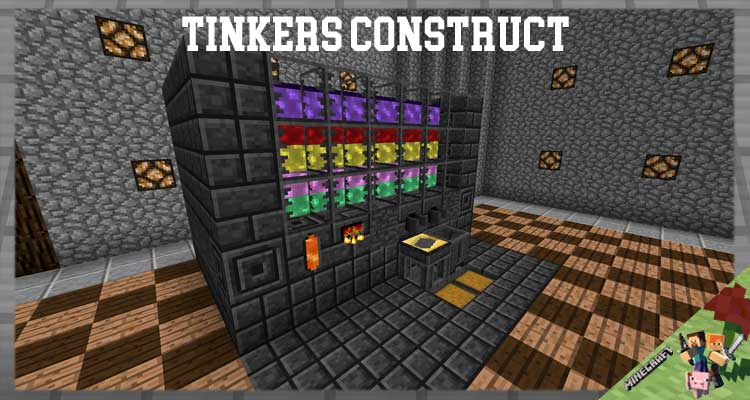 Tinkers Construct Mod 1.12.2./1.10.2/1.7.10