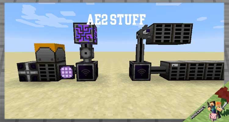 AE2 Stuff Mod 1.12.2/1.10.2/1.7.10