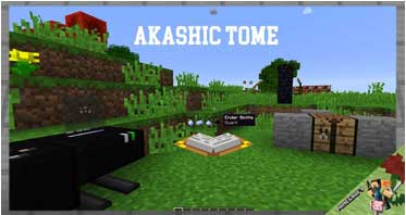 Akashic Tome Mod 1.15.2/1.12.2/1.10.2 For Minecraft
