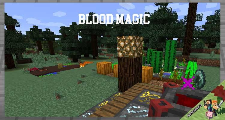 Blood Magic Mod 1.16.5/1.12.2/1.7.10