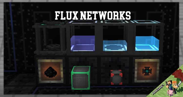 Flux Networks Mod 1.16.4/1.12.2/1.10.2